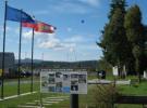Slika: Spominski park v Zapolju z novo informativno tablo